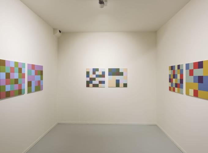 RGB Exit, Peter Struycken,