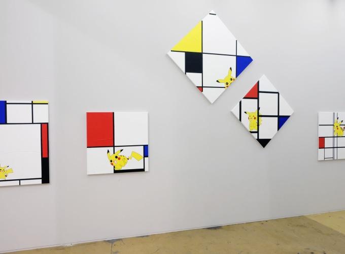 Art Rotterdam 2019, Michael Pybus,