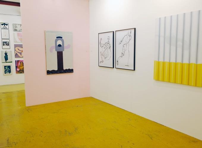 Art Rotterdam 2019, Charline Tyberghein, Catharina Dhaen, Gommaar Gilliams, Pieter Jennes, Bendt Eyckermans,