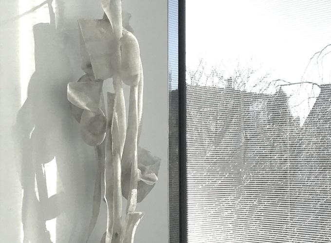 'Het stille WIT' 10 maart borrel met kunstenaars, Marinke van Zandwijk, Helene Briels, Robbert de Goede, Rob Regeer, Tonneke Sengers, Marja Kennis, Deirdre McLoughlin, Katrien Vogel, Kees de Vries,