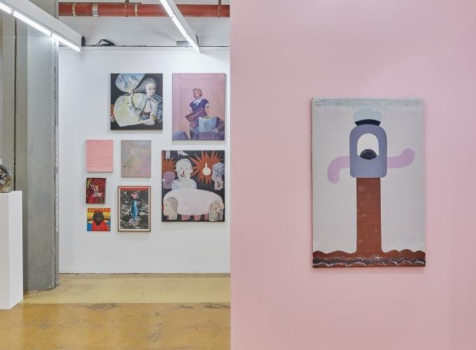 Art Rotterdam 2019, William Ludwig Lutgens, Nel Aerts, Jenny Brosinski, Beni Bischof,