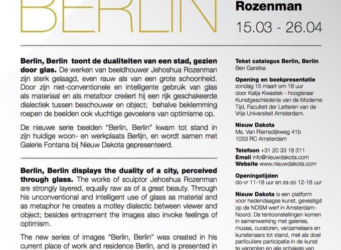 Berlin, Berlin, Jehoshua Rozenman,