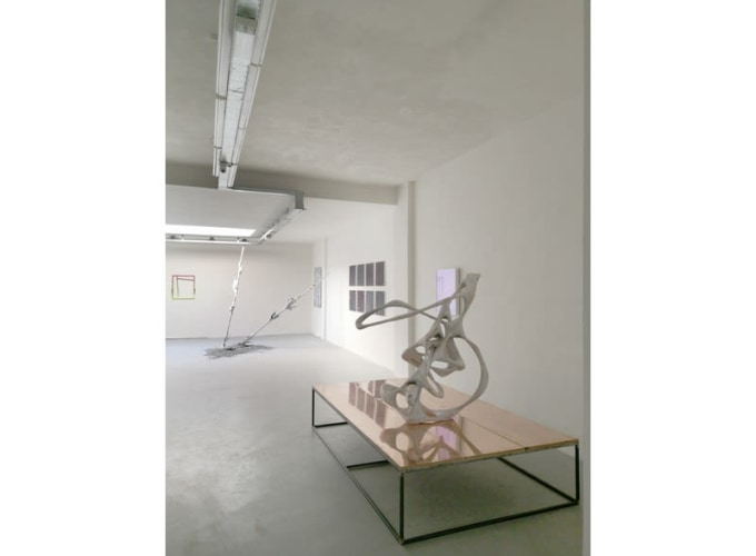RHIZOME - GROUP SHOW BERLIN BASED ARTISTS, Bram Braam, Ties Ten Bosch, Manfred Peckl, Wolfgang Ganter,