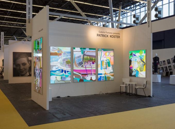 KunstRAI Art Amsterdam Fair, Patrick Koster,