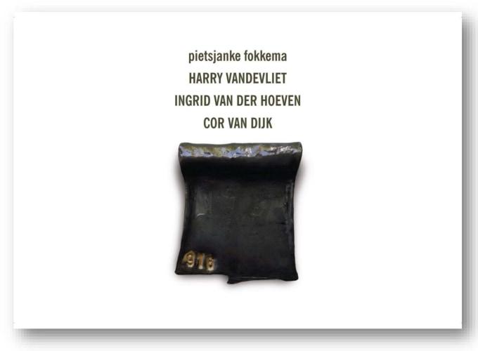 '4+4' Groepstentoonstelling, Dave Meijer, Ingrid van der Hoeven, Cor van Dijk, Jus Juchtmans, P.B. Van Rossem,