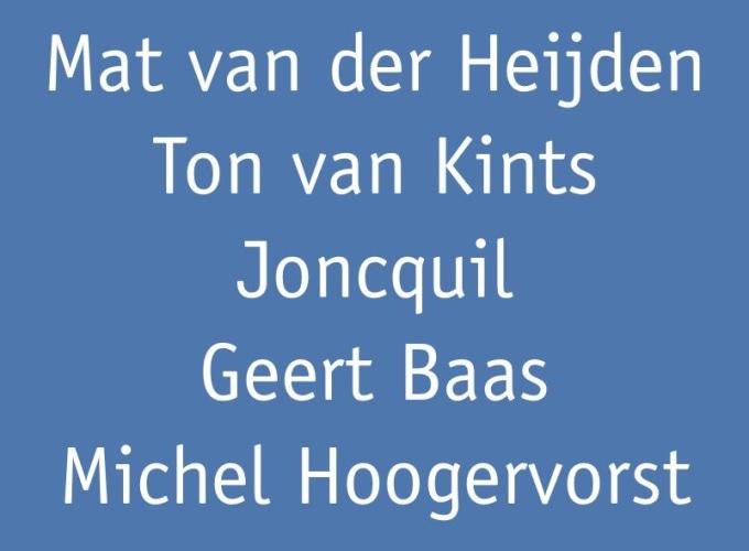 But thy eternal summer shall not fade, Ton van Kints, Geert Baas, Mat van der Heijden, Michel Hoogervorst, Joncquil,