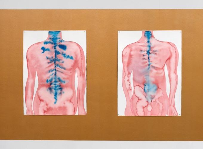 Flow (watercolors), Maria Roosen,