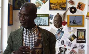 Georges Adéagbo, Lumen Travo Galerie