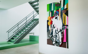 Patrick Koster, Galerie Fontana