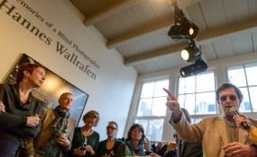 Hannes Wallrafen, Galerie Fontana