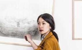 Tja Ling 嘉玲, Galerie Vriend van Bavink