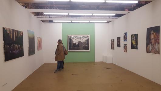 Art Rotterdam 2018, Marcel van Eeden, Galerie Maurits van de Laar
