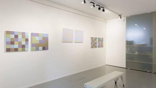 RGB Exit, Peter Struycken, andriesse eyck galerie
