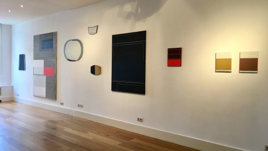 Lines, form, spaces and other, Inez Smit, Galerie Helder