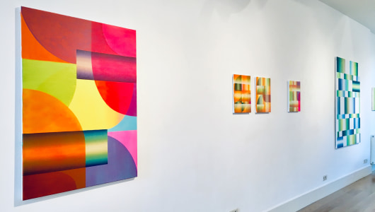 Elka Oudenampsen, SOLO expositie, Elka Oudenampsen, Galerie Helder
