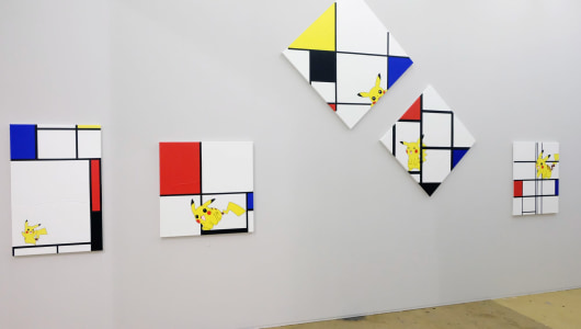 Art Rotterdam 2019, Michael Pybus, TATJANA PIETERS