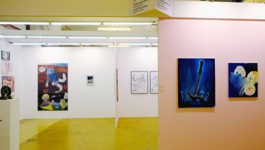 Art Rotterdam 2019, Charline Tyberghein, Catharina Dhaen, Gommaar Gilliams, Pieter Jennes, Bendt Eyckermans, Gallery Sofie Van de Velde