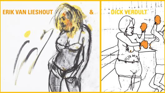 Drawing Online, Dick Verdult, Erik van Lieshout, Annet Gelink Gallery