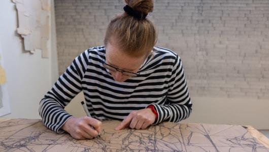 Drawing Online, Wieteke Heldens, BorzoGallery