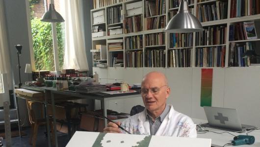 Drawing Online, Peter Struycken, andriesse eyck galerie