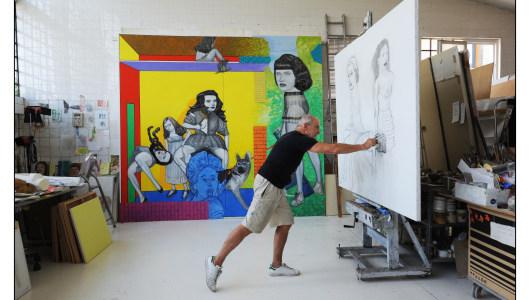 La Fuite de l'Ame, Pat Andrea, Galerie Ramakers