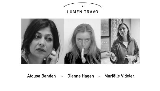 Drawing Online, Atousa Bandeh Ghiasabadi, Mariëlle Videler, Dianne Hagen, Lumen Travo Galerie