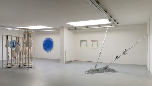 RHIZOME - GROUP SHOW BERLIN BASED ARTISTS, Ties Ten Bosch, Manfred Peckl, Bram Braam, Wolfgang Ganter, Frank Taal Galerie