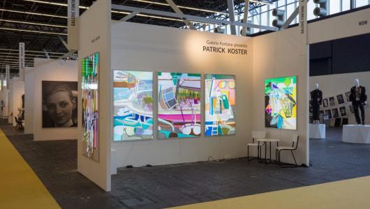KunstRAI Art Amsterdam Fair, Patrick Koster, Galerie Fontana