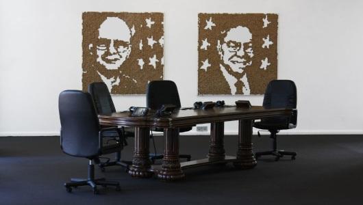 Unveiled, Alain Declerq, Galerie Fontana