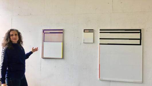'Space and Infinity'  & ieder de helft, Inez Smit, Otto Egberts, Galerie Helder