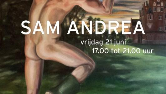 Solo expositie Sam Andrea, Sam Andrea, Galerie Vriend van Bavink