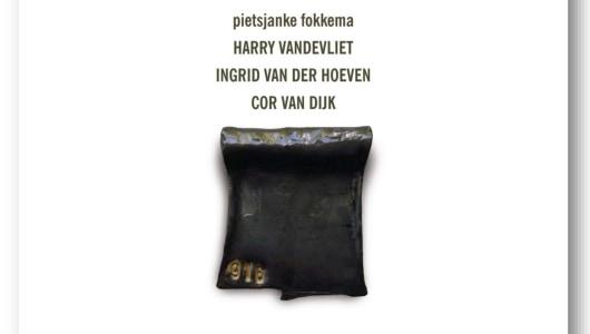 '4+4' Groepstentoonstelling, P.B. Van Rossem, Jus Juchtmans, Cor van Dijk, Ingrid van der Hoeven, Dave Meijer, Galerie van den Berge