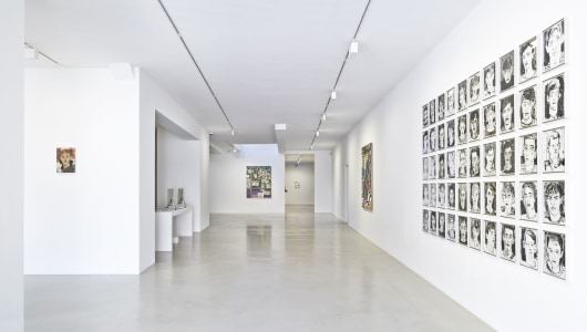 Through Painters' Eyes, Ioan Sbârciu, Hernan Bas, Galerie Ron Mandos
