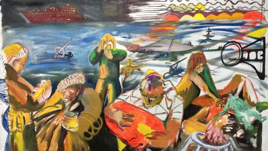 Art goes market!, Shaun Ellison, David Bade, Kersgallery