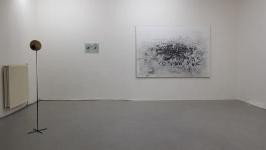 a blue cloud entering the frame, Marilou van Lierop, Frank Taal Galerie
