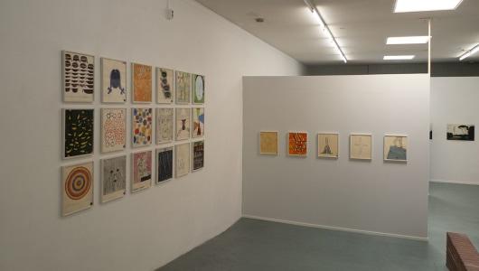 Drawing Now, Martin Assig, Tobias Gerber, Dan Zhu, Ronald Versloot, Galerie Maurits van de Laar