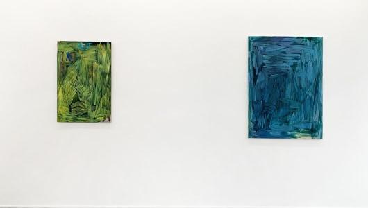 glass-blue days, Rob Johannesma, Albada Jelgersma Gallery