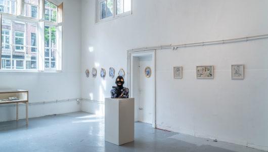 Discomfort, Koos Buster, Gees Voorhees, Johan Kleinjan, Thijs Jansen, Jans Muskee, Galerie Fleur & Wouter