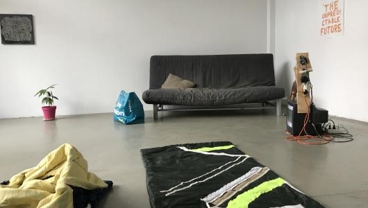 Slaap Lekker Studio, Lee McDonald, Galerie van Gelder