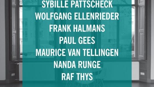 REASONS TO BE CHEERFUL (PART 1), Paul Gees, Wolfgang Ellenrieder, Maurice van Tellingen, Raf Thys, Nanda Runge, Sybille Pattscheck, Frank Halmans, Galerie van den Berge