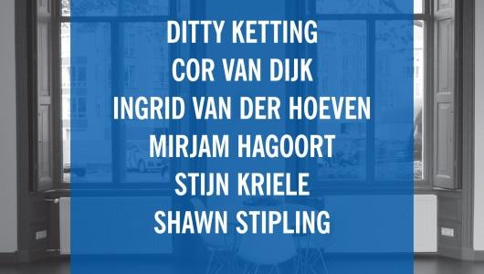 Reasons to be cheerful # 2, Mirjam Hagoort, Cor van Dijk, Shawn Stipling, Stijn Kriele, Ditty Ketting, Ingrid van der Hoeven, Galerie van den Berge