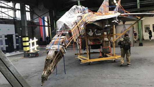 Big Art, Lee McDonald, Ian Page, Henry Byrne, Galerie van Gelder