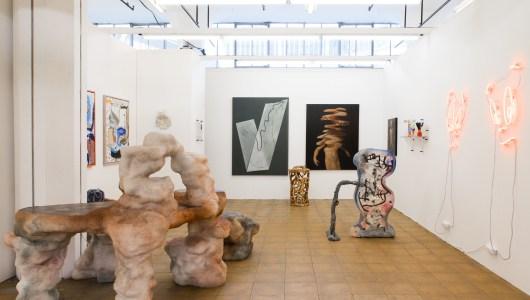 Art Rotterdam 2020, Daan Gielis, Elissa Lacoste, Tom Volkaert, Natacha Mankowski, Everyday Gallery