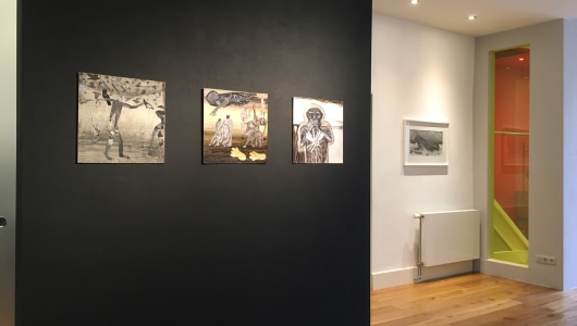 Unleashed and beyond (Hans Lemmen & Roger Ballen), Roger Ballen, Hans Lemmen, Galerie Helder