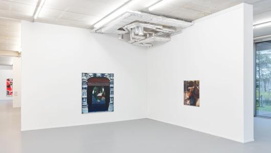 Blue Shadow, Bendt Eyckermans, Gallery Sofie Van de Velde