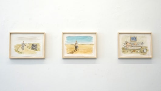 Drawings, Teun Hocks, Torch Gallery