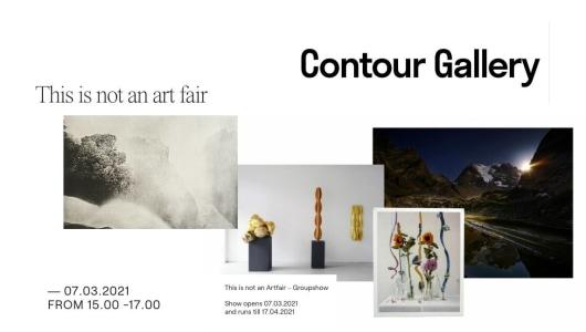 This is not an artfair, Petra Laaper, Marie Pop, Lenghi Teng, Lars van den Brink, Maxime Ansiau, Contour Gallery