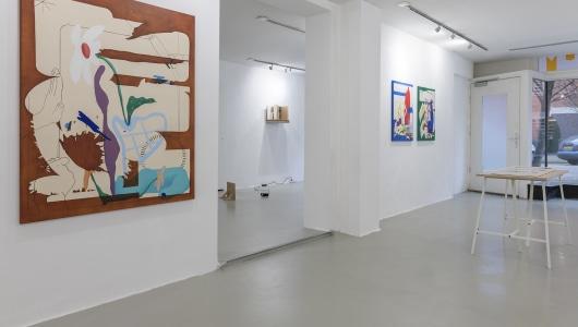 Colours in the limited space, Tom Kraanen, Meg Forsyth, Rob Bouwman, Josilda da Conceição Gallery