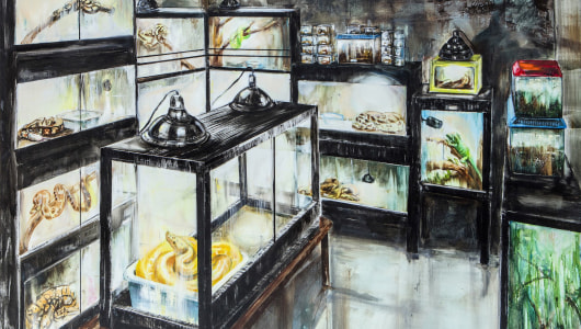 The Reptile Room, Tom Liekens, Galerie Bart