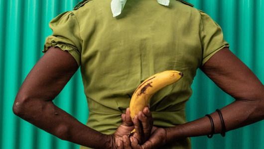 Never Too Old Too Cut The Banana When Erected, Lola Keyezua, Galerie Bart